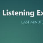 Last Minute ESL Listening Pack