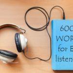 Important lexis for ESL listening